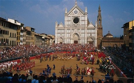 Historical Soccer: Florentine tradition